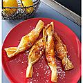 Papillotes pomme abricot caramélisé....comme un bonbon
