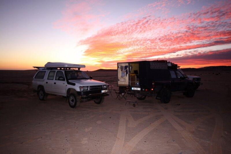 Camp dans la Baie de Dakhla_Maroc_XRu