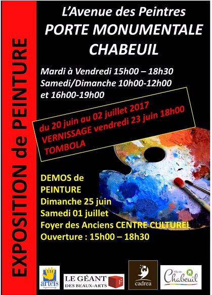 EXPOSITION ANNUELLE DE L ASSOCIATION : Venez nombreux !