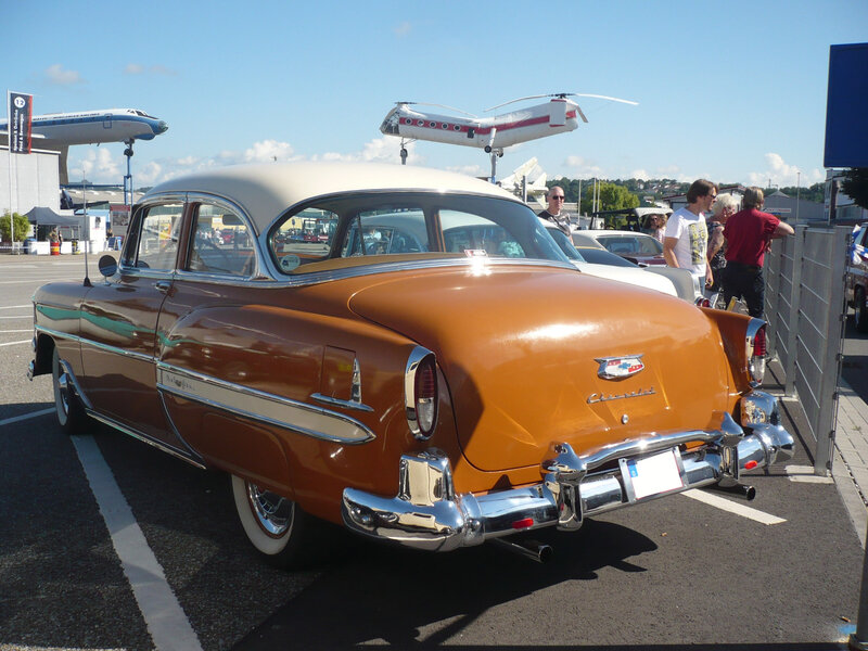 CHEVROLET Bel Air 2door Sedan 1954 Sinsheim (2)