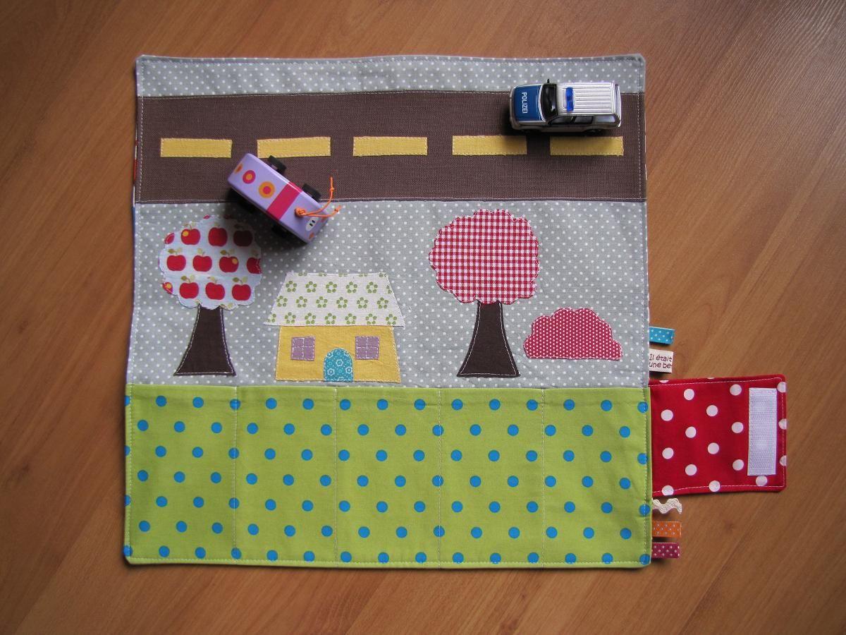 Pochette pour petites voitures/ Tasche für kleine Autos