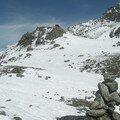 La passe, a 4600m
