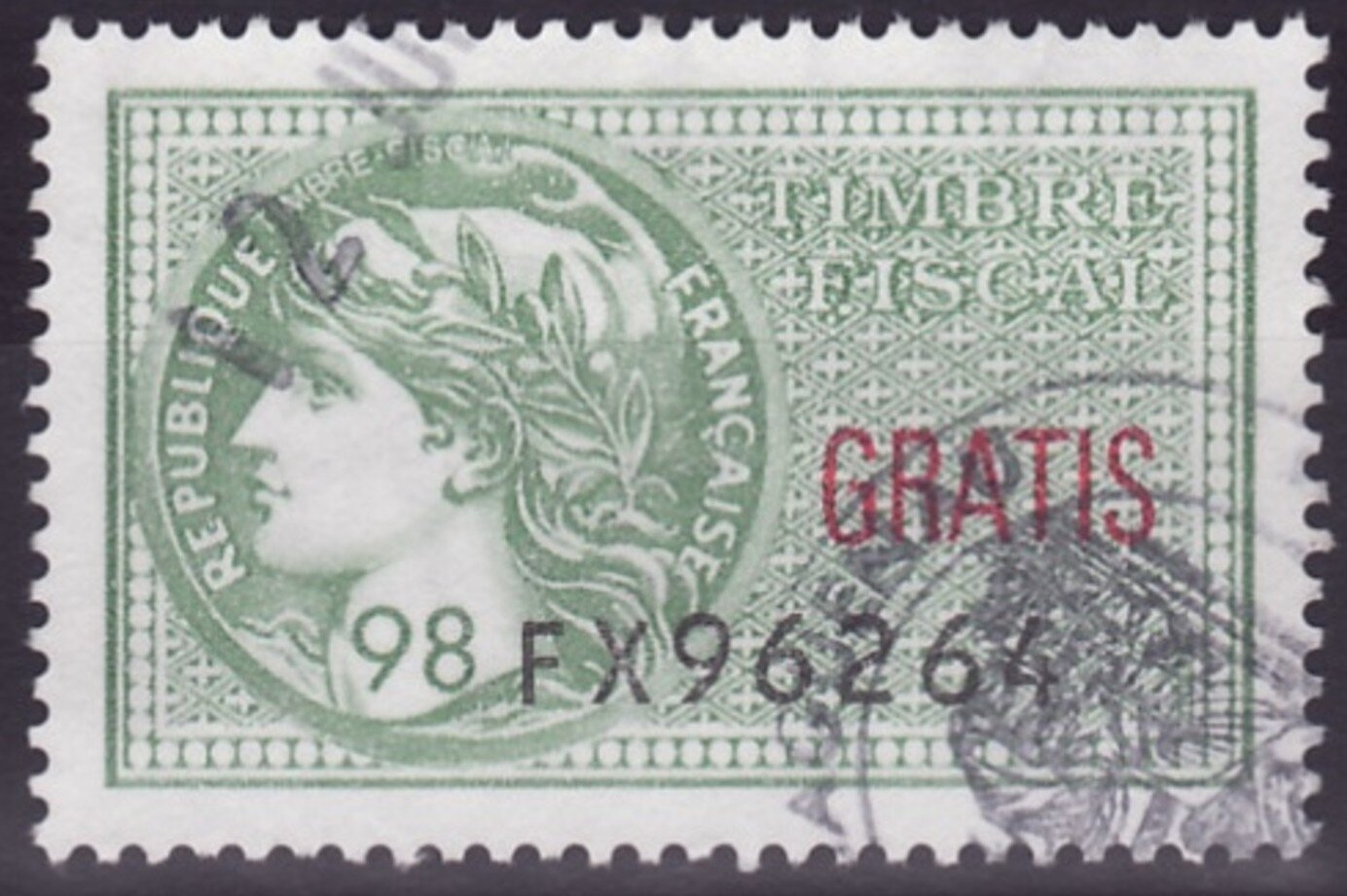 timbres fiscaux datant