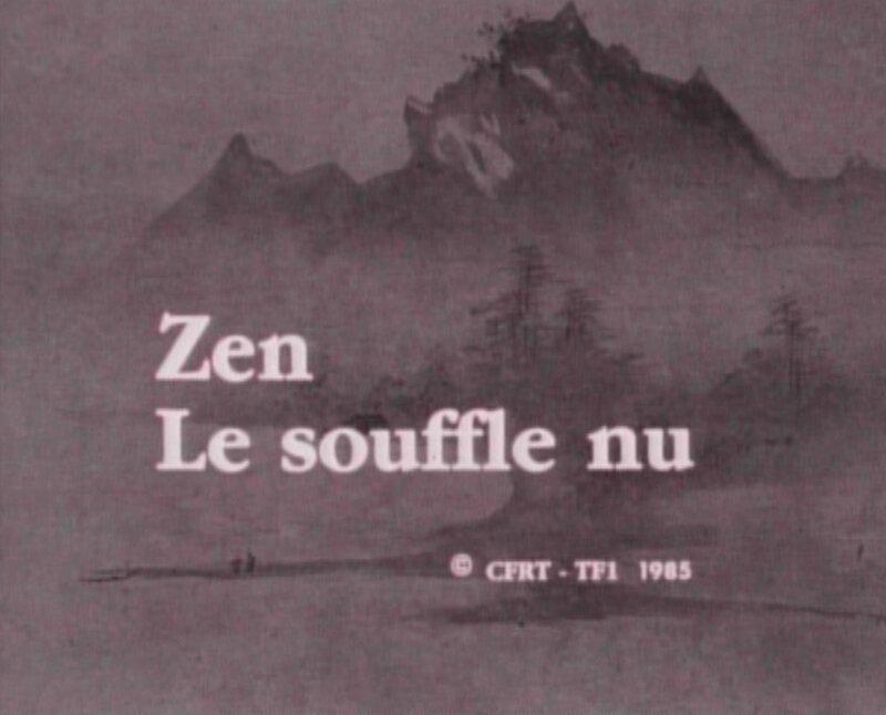 Zen, le souffle nu