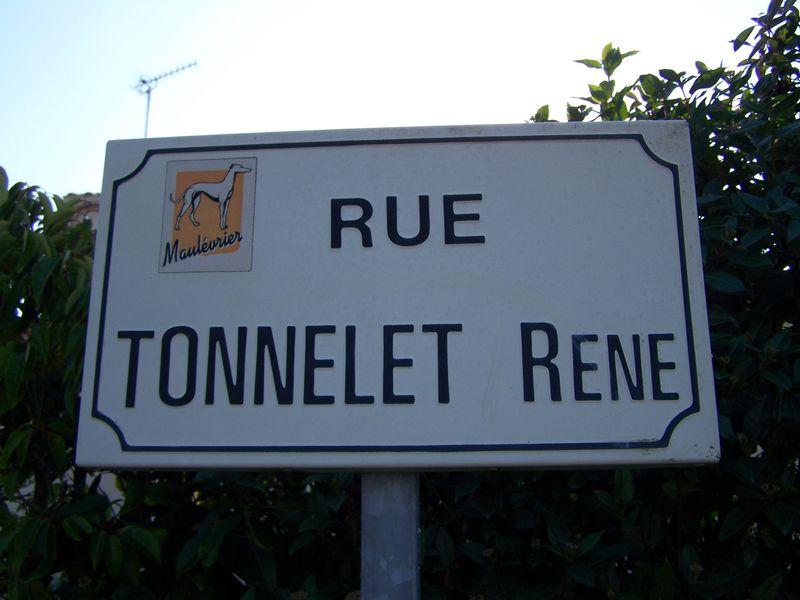 Maulévrier (49), rue Tonnelet René