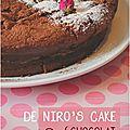 ..de niro's cake (oh yes !)..