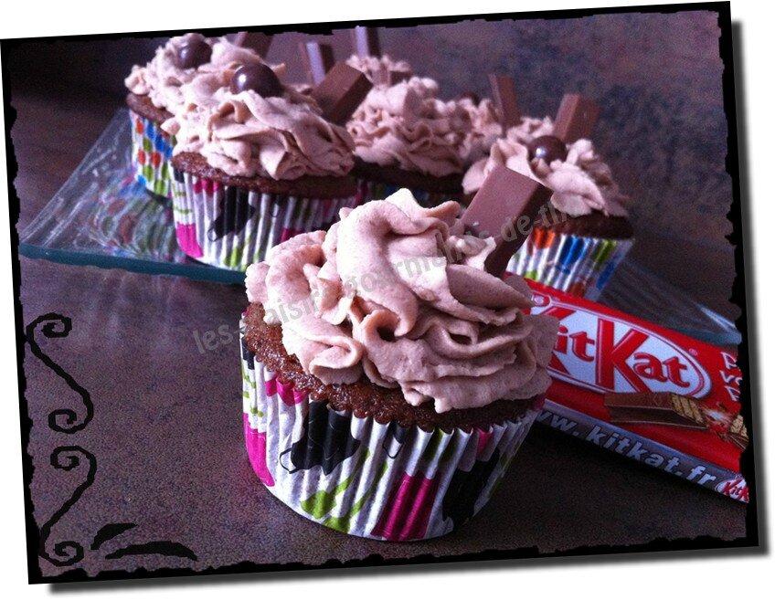 Cupcakes Kit Kat