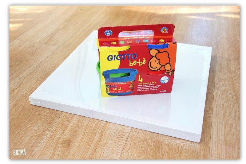 1 Giotto peinture doigt activité enfant kids ambassadrice loisirs créatif tableau art créativité imagination lavable à l'eau bbtma blog parents famille