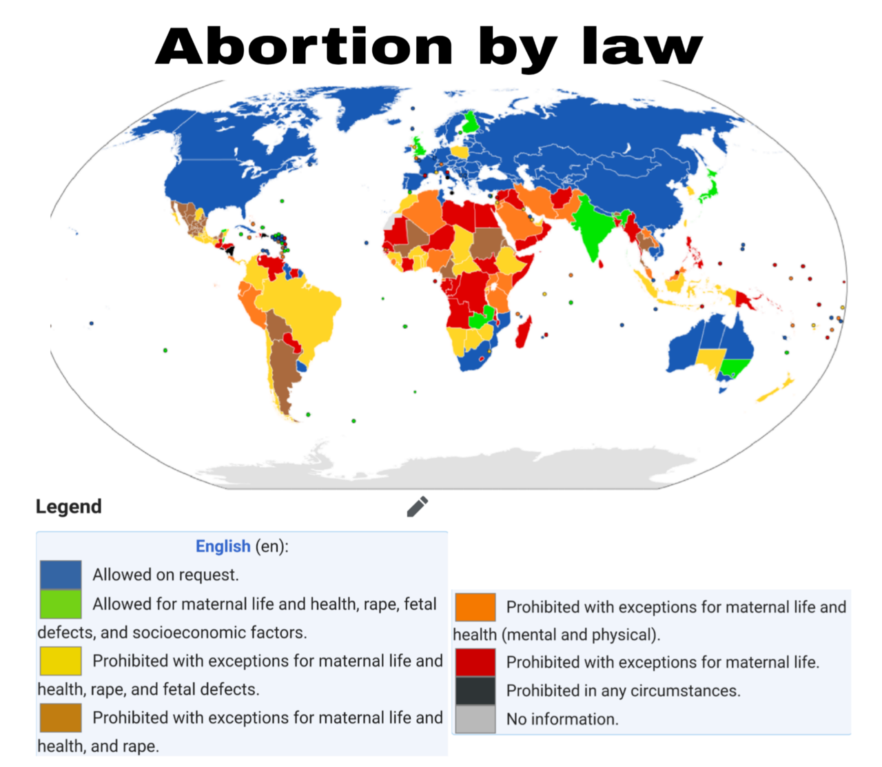 Abortion by law