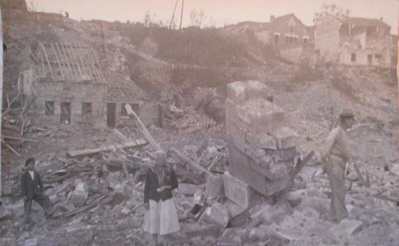 1944 Julia Tétard et son époux Jules Pavie