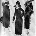 Robe du jour, 1921