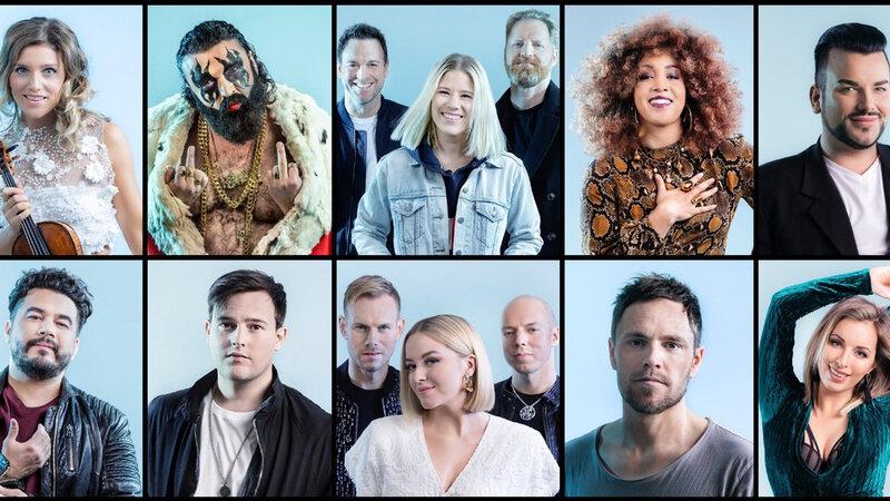 MGP 2019 Artists