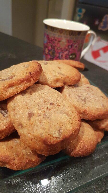 Cookies 100% marron