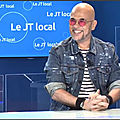 Pascal obispo dans le grand direct de viaatv en martinique