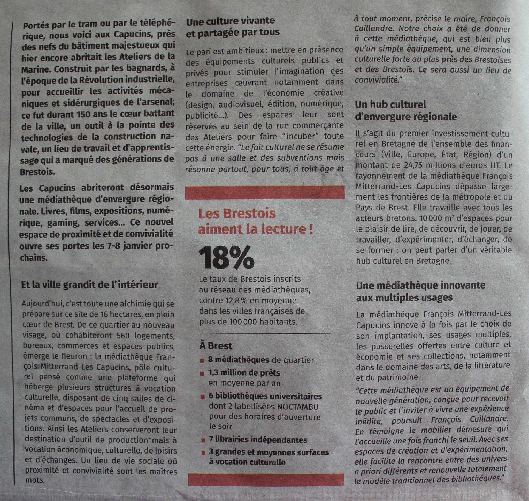 Balade à Brest  Bienvenue aux Capucins ! - modélisme trains e186913759b