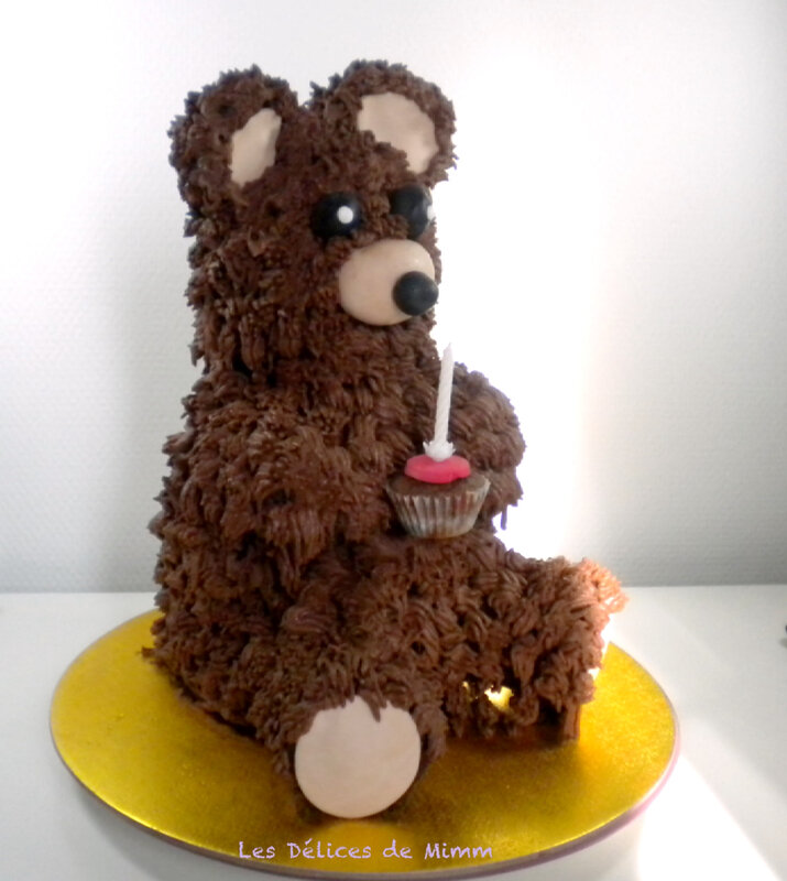 Mon gâteau nounours 2