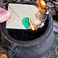Enveloppe de sort du grand maitre marabout vaudou hounsi
