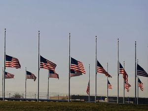 Newtown shooting, nation mourning - une nation endeuillée