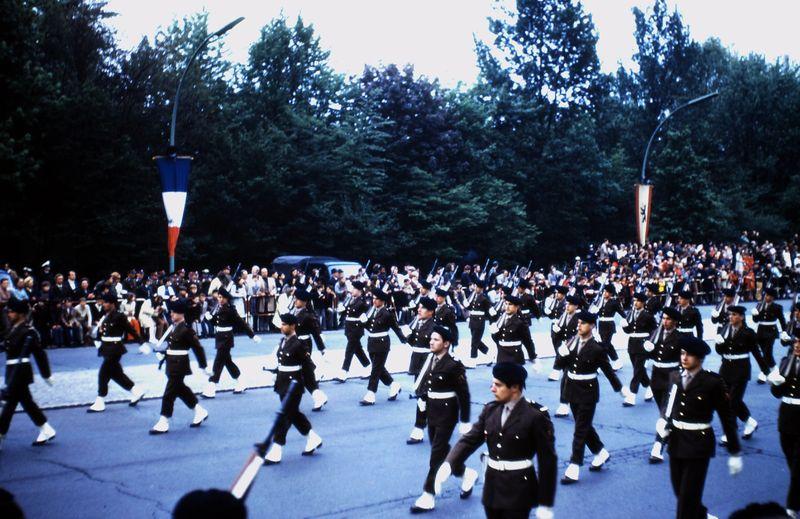 052 Défil-Inter-Alliés Berlin 13-05-1972 FR. 46°Régiment d'Infanterie