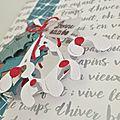 Dt 4enscrap - invitation cartes de voeux