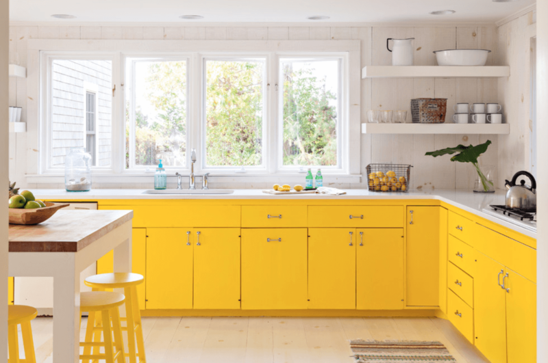 yellow-kitchen-cabinet