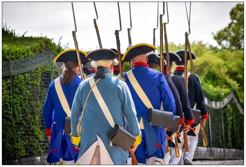 reconstitution historique soldat rochefort Hermione la Fayette (1)