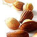 Les madeleines au miel, de christophe felder