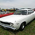 Plymouth sport satellite hardtop coupe, 1968