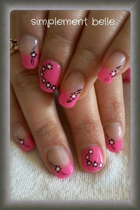 Decoration ongles vernis