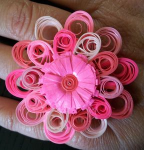 bague quil rose