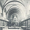 L'ancienne bibliothèque dans la chapelle du couvent des minimes
