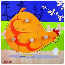 """Résultat de recherche d'images pour """"puzzle poule janod"""""""