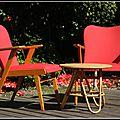 707 vintage fauteuil 50s