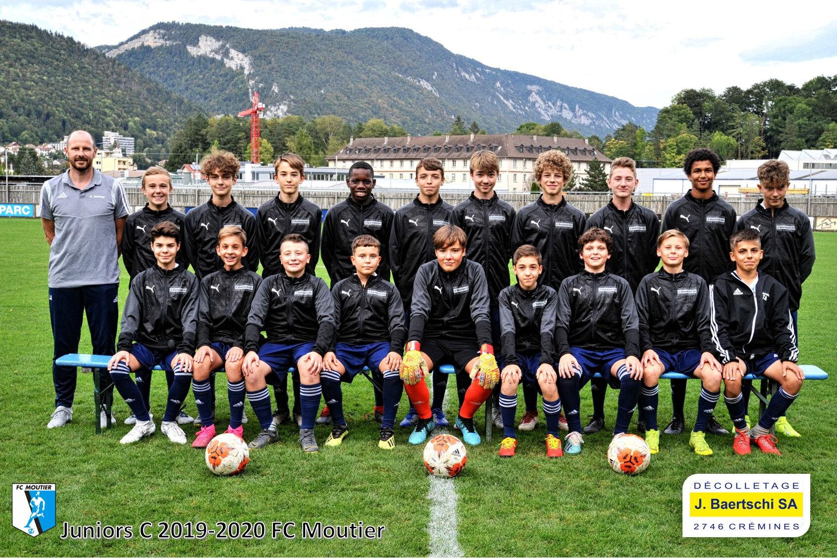 Juniors C 2019-2020 FC Moutier
