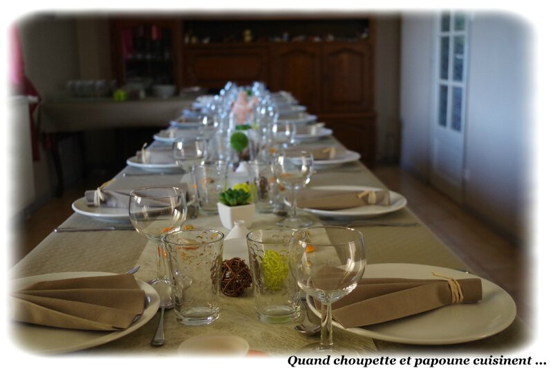 table Tunisienne 50ans Sylvie-4597