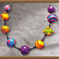 Collier multicolore n° 5 (N)