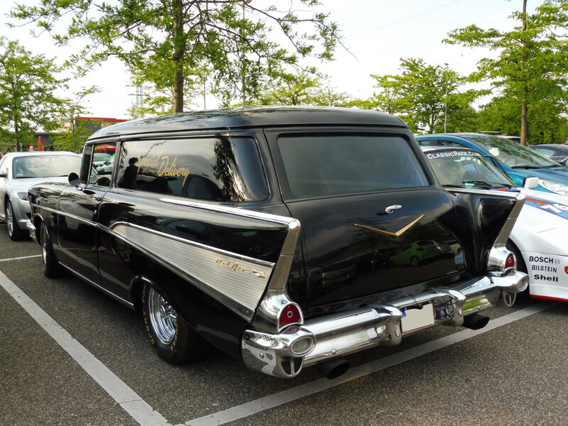 CHEVROLET Bel Air Sedan Delivery Wagon 1957 Offenbourg (2)