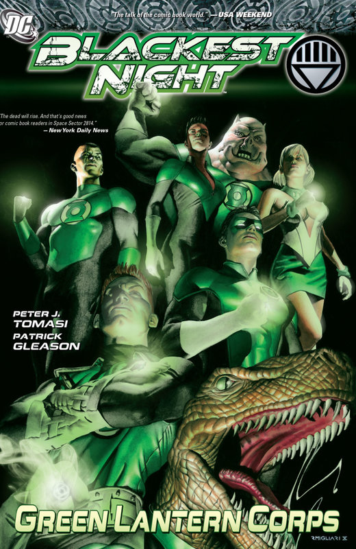 blackest night green lantern corps TPB