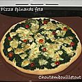 Pizza épinards feta