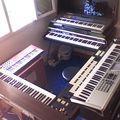 Nouvelles photos des claviers de rastyron au studio