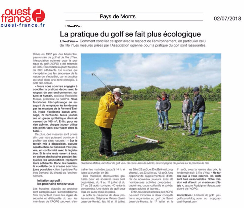 OUEST FRANCE 02 07 18