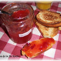 Confiture nectarines vanille en map