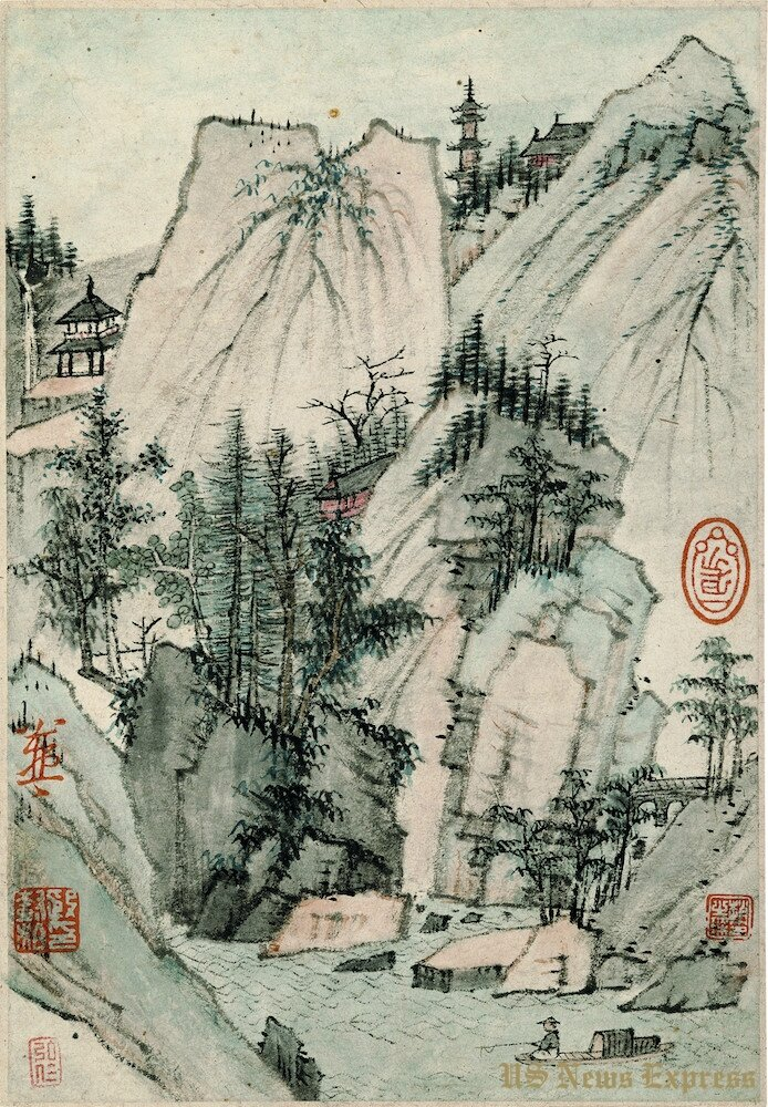 17th-century Chinese paintings from the Tsao Family
