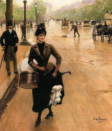 la modiste jean-beraud-russian-born-french-impressionist-painter-1849-c-1935-the-milliner-on-the-champs-elysees-1353222456_b