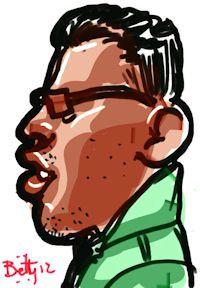 numerique caricature portrait