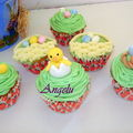 Cupcakes de pâques - easter cupcakes