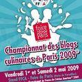 Championnat de blogs culinaires