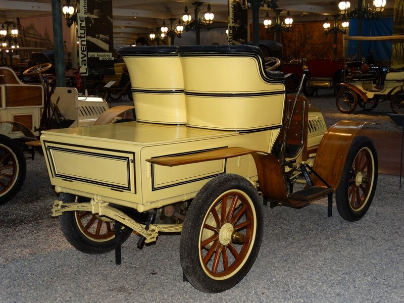 DE DION BOUTON type S biplace 1903 Mulhouse (2)