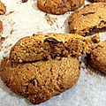 Chocolate chips cookies paléo +++