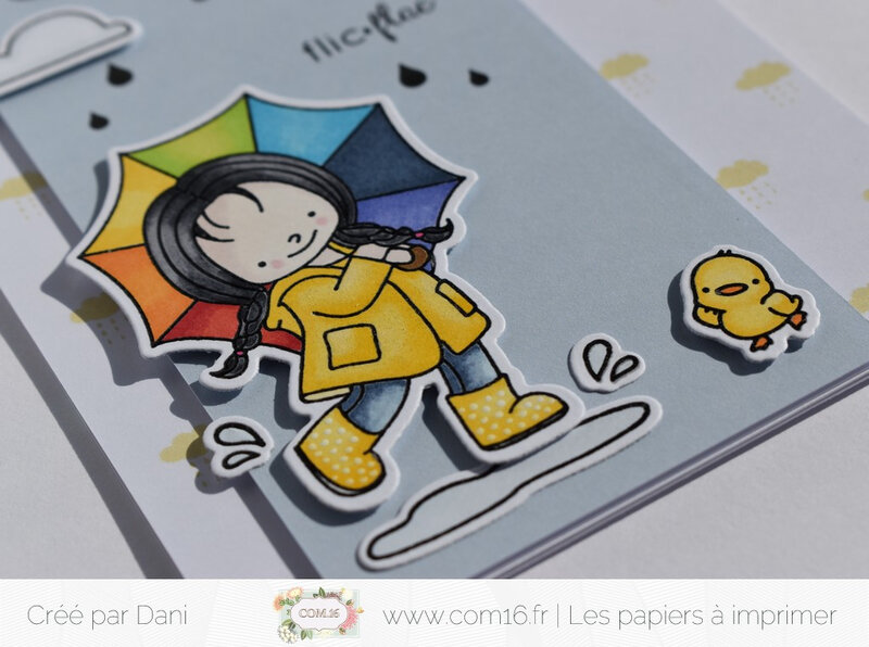 Dani zoom carte1 Jour de pluie Com